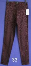 sehr enge gemusterte Damenhose Gr.S nicht getragen Nr.33