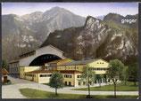 AK Oberammergau, Passionstheater mit Kofel u. Noth    98p