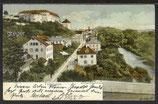 AK  Teilansicht von Tübingen von 1903    15g