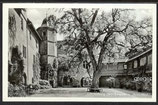 AK Jagsthausen, der Schloßhof der Götzeburg     35h
