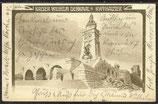 AK Deutsches Reich  Kaiser Wilhelm Denkmal Kyffhäuser von 1905   20/24