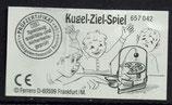 Kugel-Ziel-Spiel von 1995    Nr. 657042 - 1x