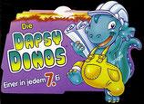 Ü-Ei Palettenanhänger 1995 Die Dapsy Dinos  Nr.5