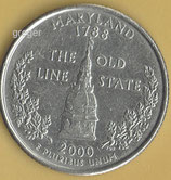 QUARTER DOLLAR Maryland von 2000  -   1x