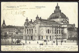 AK Deutsches Reich 1903 Frankfurt a. Main Schauspielhaus    7/4