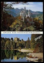 AK  Königsschloss Neuschwanstein u. Hohenschwangau   73/20