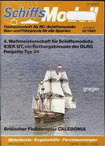Schiffsmodell 10/85 c  abl