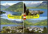 AK Zell am See, Mehrbildkarte    13n