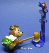 T.T.Teddies in Volksfeststimmung von 1996  - Mucki Maxl  -  mit BPZ   - 10x
