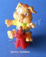 Pinky Piggys von 2000  - Sammy Sattelfest ohne Pferd  - ohne BPZ  -  2x