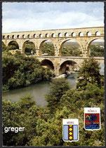 AK Le Pont du Gard    44n