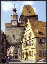 AK Rothenburg, Röderbogen mit Marktplatz    48/30