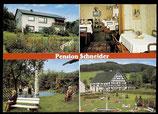 AK Mehrbildkarte Pension Schneider,  Finnentrop    71/38