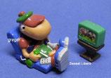 Bill Body der Supersportler von 1993  - Sessel Libero  grüner Fernseher - ohne BPZ   -  3x