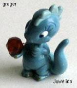 Die Drolly Dinos von 1993  -  Juwelina  - ohne BPZ     - 1x