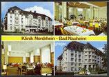 AK Bad Nauheim, Klinik Nordrhein, Mehrbildkarte    11p