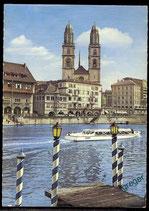 AK Zürich, Grossmünster  64/19