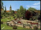 AK Scheidegg, Kurpark mit Pavillon    30-l