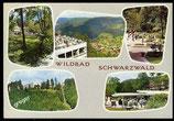 AK Mehrbildkarte vom Wildbad im Schwarzwald   73/9