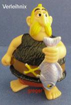 Asterix und die Römer von 2000  Verleihnix   -  mit BPZ  -  2x