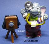Happy Hippo Hochzeit von 1999  - Uli Unscharf  - mit BPZ  -  1x