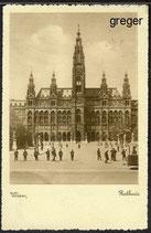 AK  Das Rathaus in Wien    17j