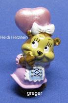 T.T.Teddies in Volksfeststimmung von 1996  - Heidi Herzilein  - mit BPZ   -   2x