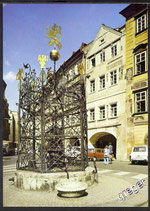 AK Prag Zierbrunnen In der Altstadt    w23