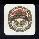 Bierdeckel der Brauerei Glaabsbräu Seligenstadt  1