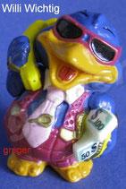 Bingo Birds von 1996  - Willi Wichtig - mit BPZ  -  9x