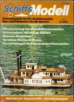 Schiffsmodell 4/84 d  abl