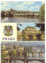 AK Prag, Mehrbildkarte     51/17
