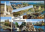 AK Amsterdam Mehrbildkarte    42/4