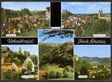 AK Urlaubsziel Fränkische Schweiz,  Mehrbildkarte   21/17