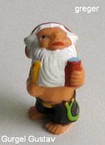die Badezimmerzwerge von 1991  - Gurgel Gustav  -  ohne BPZ   - 4x