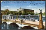 AK D, Reich von 1917, Berlin Nationalgalerie   33/13