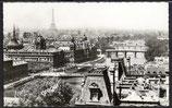 AK Paris, Vue panoramique de Paris   40/30