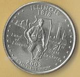 QUARTER DOLLAR Illinois von 2003   - 1x