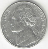 Kursmünze USA FIVE CENTS von 1994 D   1x