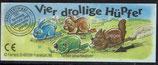 Vier drollige Hüpfer von 1996  Norbert Nußknacker   653241 - 1x
