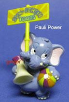 Die Funny Fanten im Cluburlaub von 1995  - Pauli Power  - mit BPZ   -  7x