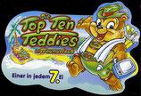 1x Ü-Ei Palettenanhänger 1999 DieTop Ten Teddies im Traumurlaub   Nr.4