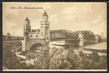 AK Köln a. Rh. Hohenzollernbrücke 10/3