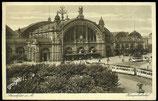 AK Deutsches Reich 1928 Frankfurt a. M. Der Hauptbahnhof  6/36