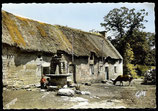 AK Chaumieres de Bretagne - Strohgedecktes Haus in der Bretagne   65-l