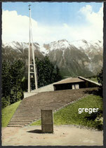 AK Kapelle an der Europabrücke gegen Nordkette   27n