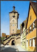 AK Rothenburg 0.T. Klingentor mit Wolfgangkirche,    34/41
