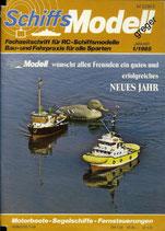Schiffsmodell 1/85 b