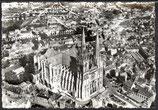 AK En avion sur Chartres    53-o