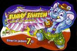 1x Ü-Ei Palettenanhänger 1998 Die Fanny Fanten Stars in der Manege   Nr.3